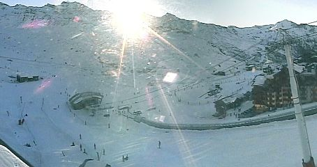 a panoramic view of Val Thorens